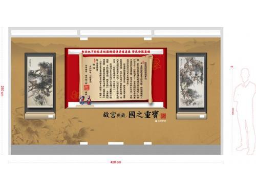 台北地下街-猴展櫥窗